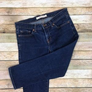 J Brand • 935 Ink Low Rise Cropped Ankle Jeans 27
